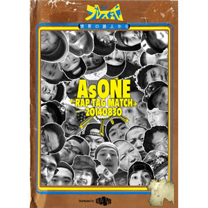 太華 & SharLee / AsONE -RAP TAG MATCH- 20140830 [DVD]