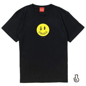 SMILEY BONG TEE (BLACK)