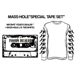 "MASS-HOLE - ""FOOD'S DEALER"" SPECIAL MIXTAPE SET (MIDNIGHT MEAL/2017)【限定】"