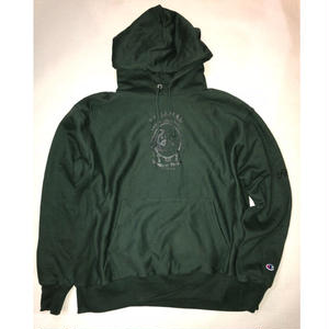 -PRILLMAL-TRADITINAL!! : HOOD SWEAT(green)