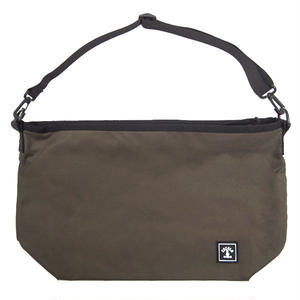 SQUARE LOGO SHOULDER BAG (OLIVE)