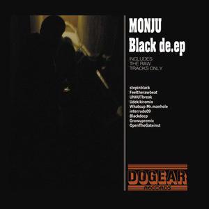 MONJU / Black de.ep [LP]