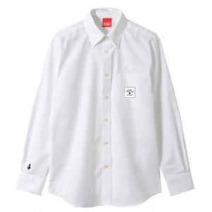 SQUARE LOGO OX SHIRTS (WHITE)