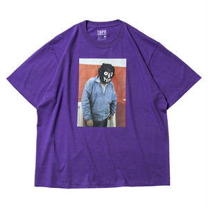 6月発売 / TIGHTBOOTH x OILWORKS - KUBRICK T-SHIRT PURPLE SHIRT