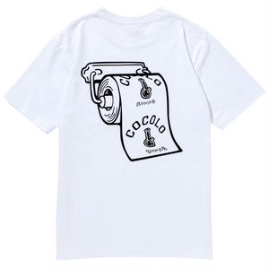 TOILETPAPER HEAVY POCKET TEE (WHITE)