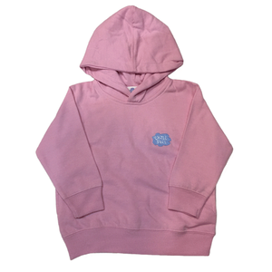 "CHILLSULL""1POINT HOODIE"" / PINK(KIDS)"