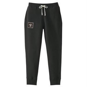 SQUARE LOGO SWEAT PANTS (BLACK)