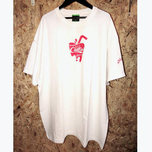 PRILLMAL WHITE COOLIN' S/S TEE '(white/red)