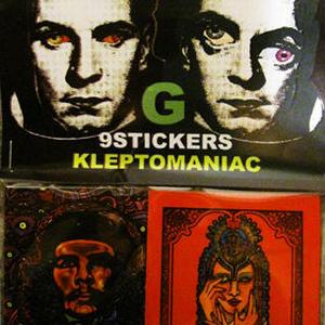 KLEPTOMANIAC / 9 STICKERS TYPE G [STCIKER]