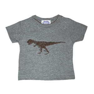 "CHILLSULL""Rex Tee"" / GRAY(KIDS)"