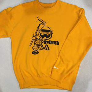 Rollers  Re××Le CREW NECK(yellow/white/gray)