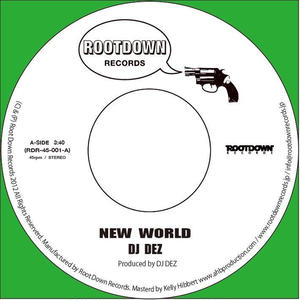 DJ Dez / New World/Brain 1(Green Vinyl) [7INCH]