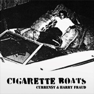12月上旬 - CURREN$Y X HARRY FRAUD / CIGARETTE BOATS [LP]