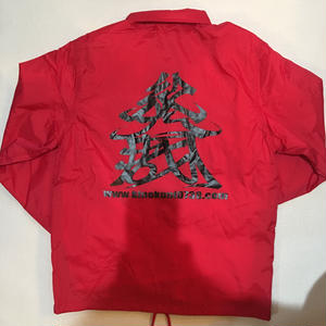 KINOKUNI COACH JACKET(Red)
