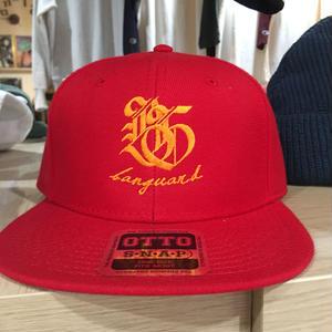 Banguard&Lefdeep snapback(RED/GOLD)