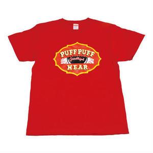 PUF PUF TEE (HI RED)