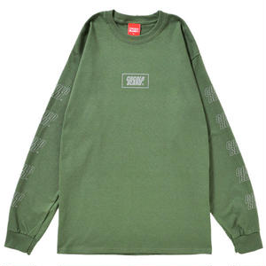 REFLECTOR LOGO L/S TEE (MILITRY GREEN)