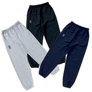 BASIC LOGO SWEAT PANTS (GRAY/BLACK/NAVY)