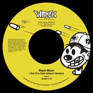 1月上旬出荷予定 - BLACK MOON / I GOT CHA OPIN (REMIX) [7inch]
