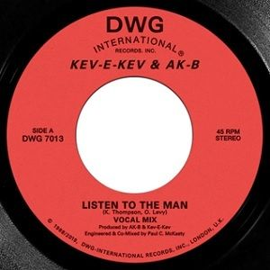 KEV-E-KEV & AK-B / LISTEN TO THE MAN b/w KEEP ON DOIN [7inch]
