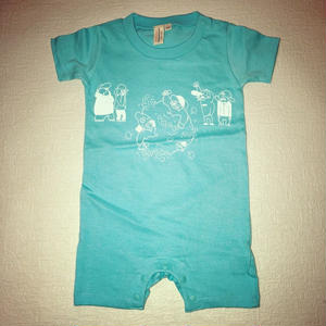Banguard Baby rompers( turquoise)