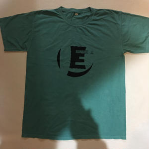 """""""E"""" S/S tee(スムースグリーン)"""