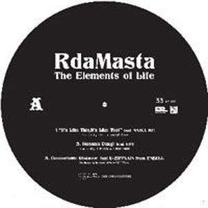 R DA MASTA / THE ELEMENTS OF LIFE EP [12INCH]
