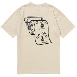 TOILETPAPER HEAVY POCKET TEE (NATURAL)