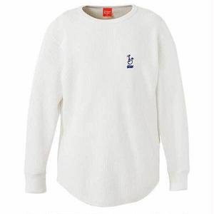 ROUGH BONG THERMAL L/S TEE (WHITE)