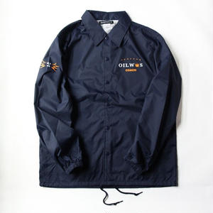 OILWORKS Coach Jacket 2018  -NAVY size L only-