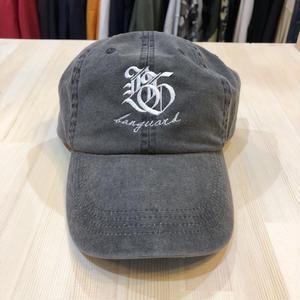 Lef deep×Banguard 6panel cap(black)