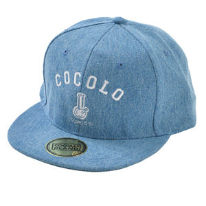ORIGINAL BONG SNAPBACK CAP (wash denim)