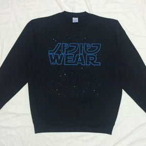 GALAXY WARS CREW NECK SWEAT (BLUE)
