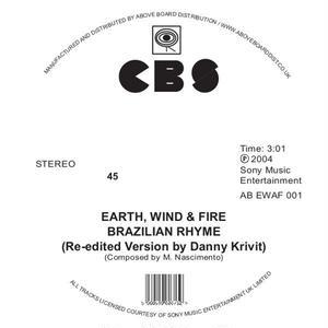 EARTH, WIND & FIRE / BRAILIAN RHYME/RUNNIN' (RE-EDITED BY DANNY KRIVIT) [12inch]