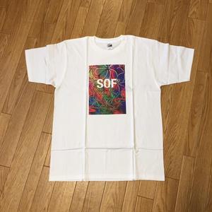 Soul Flower Pattern SOF Tee(White)