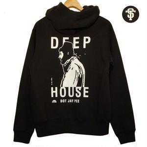 """DEEP HOUSE DOT JAY PEE """"ZIP PARKA"""" [BLACK]"""
