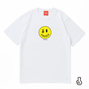 SMILEY BONG TEE (WHITE)
