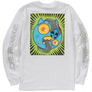 MAD BROTHRS L/S TEE (WHITE)