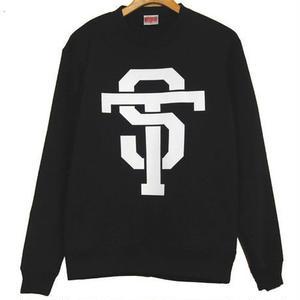 ST CREW NECK SWEAT [black]