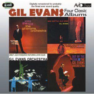 GIL EVANS / Four Classic Albums [2CD]