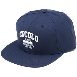COCOLO UNIVERSITY SNAPBACK (NAVY)