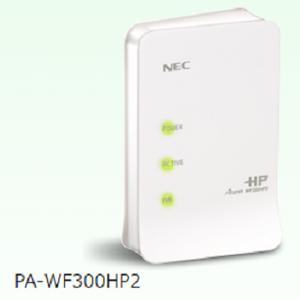 無線ルーター(NEC PA-WF300HP2)