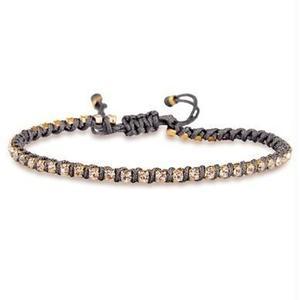 amorium Jewelry friendship bracelet/ Neon dark gray