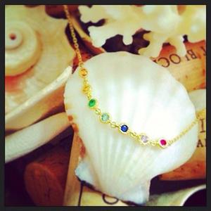 7 Color stone Bracelet