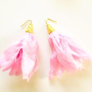 Silk Tassels (pink)