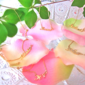 Name Necklace / Bracelet 10kGold