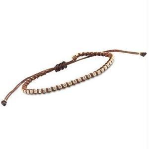 amorium jewelry friendship bracelet/ Neon Coffee