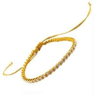 amorium Jewelry friendship bracelet / Light brown