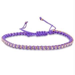 amorium Jewelry friendship bracelet/ Neon Hot Purple