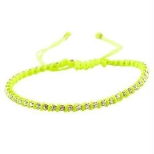 amorium Jewelry friendship bracelet/ Neon yellow